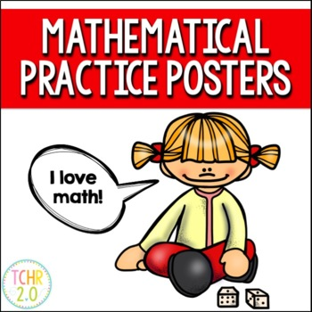 Mathematical Practice Posters and Bunting Banner