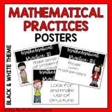 Mathematical Practice Posters -- Black & White