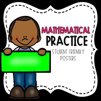 Mathematical Practice Posters Bright Colors