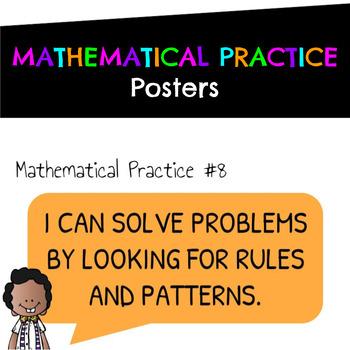Mathematical Practice Posters (Melonheadz Edition)