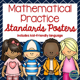 Mathematical Practice Standards Posters w/ I Can statements  (Nautical)