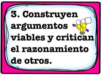 Mathematical Practice Standards en español