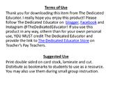 Mathematical Practices Bookmark