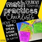 Mathematical Practices Checklists: A Student Resource