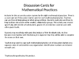 Mathematical Practices Discussion Starters