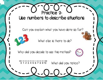 Standards for Mathematical Practice Posters - Discussion Prompts