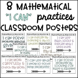 Mathematical Practices I Can Posters & Decor