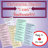 "Mathematical Practices: ""I can"" statements (bookmarks)"