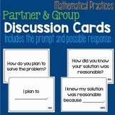 Mathematical Practices Partner & Group Discussion Cards