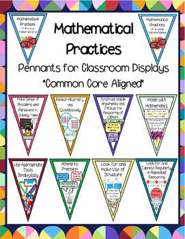 Mathematical Practices Pennant Set_Common Core