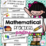 Mathematical Practices Posters - Kid Friendly
