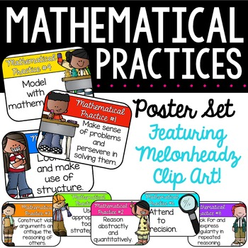 Mathematical Practices | Editable Posters | Bulletin Board
