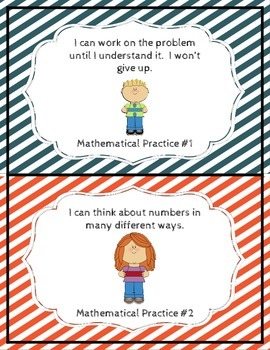 Mathematical Practices Posters