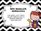 Mathematical Practices Posters - Kid Friendly - Black Chevron