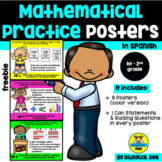 MATHEMATICAL PRACTICES POSTERS IN SPANISH