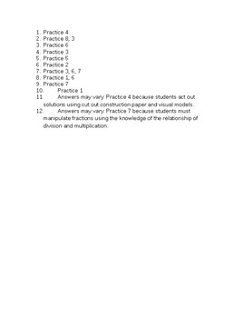 Mathematical Practices Scavenger Hunt