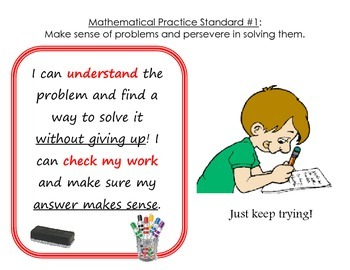 Mathematical Practices Signs