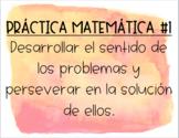 Mathematical Practices - Spanish!