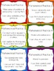 Mathematical Practices {editable} cards