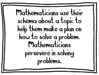 Mathematical Practices in Kid Friendly Language