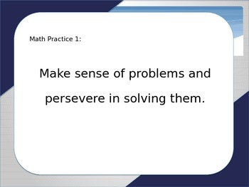 Mathematical Practices in the Middle School Classroom