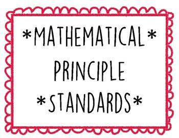 Mathematical Principle Standards