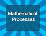 Mathematical Process Standards New Math TEKS
