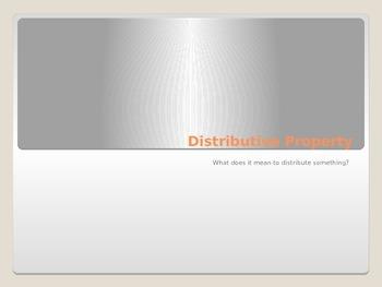 Mathematical Properties: Distributive