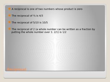 Mathematical Properties: Inverse