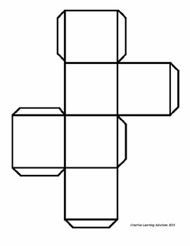 Mathematical Question Cube Project for Middle School