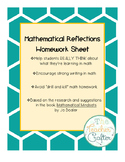 Mathematical Reflection Homework