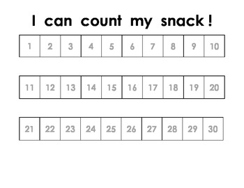 Mathematical Snack Mats