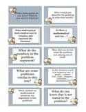 Mathematical Socratic Questioning Starter Cards
