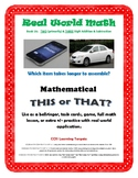 Mathematical This or That - Fun, Real World Application of