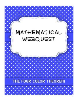 Mathematical Webquest - The Four Color Theorem