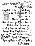 Mathematicans Poster/Coloring Sheet