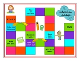 Mathematician Chit Chat Game:  All Objectives