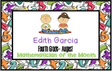 Mathematician of the Month Certificates