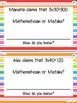 Find the Mistake! Third Grade Math Talk Discussion Cards (NBT1,2,3)