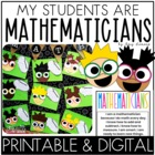 Mathematicians:  A Math Craft