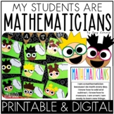 Digital and Printable Activity:  Mathematician Activity