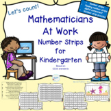 Mathematicians at work: Number strips for Kindergarten