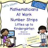 Mathematicians at work: Number strips for Kindergarten Ind