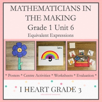 Mathematicians in the Making: Grade 1 Unit 6 Equivalent Expressions