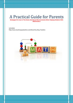 Mathematics - A Practical Guide For Parents