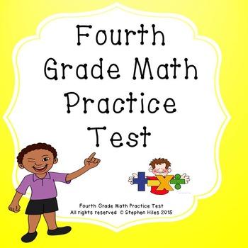 Mathematics Assessment: Fourth Grade Math Practice Test