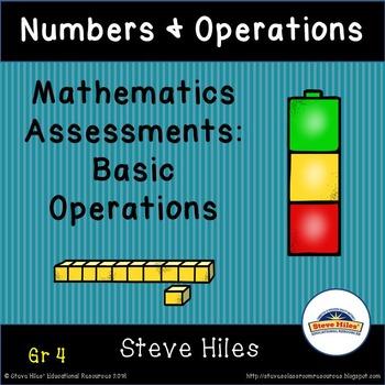 Mathematics Assessment: Grade 4  Numbers & Operations