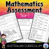 BTSdownunder Mathematics Assessment Year 1 Australian Curriculum