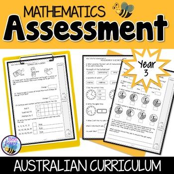 Mathematics Assessment Year 3 Australian Curriculum