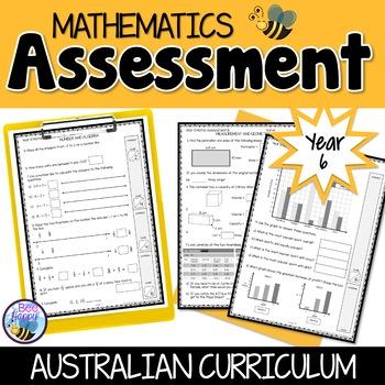 Mathematics Assessment Year 6 Australian Curriculum